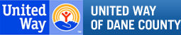 Logo reading United Way of Dane County